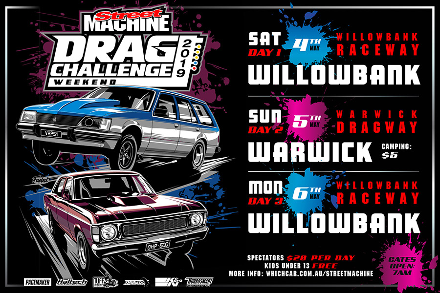 Drag Challenge Weekend Returns to QLD