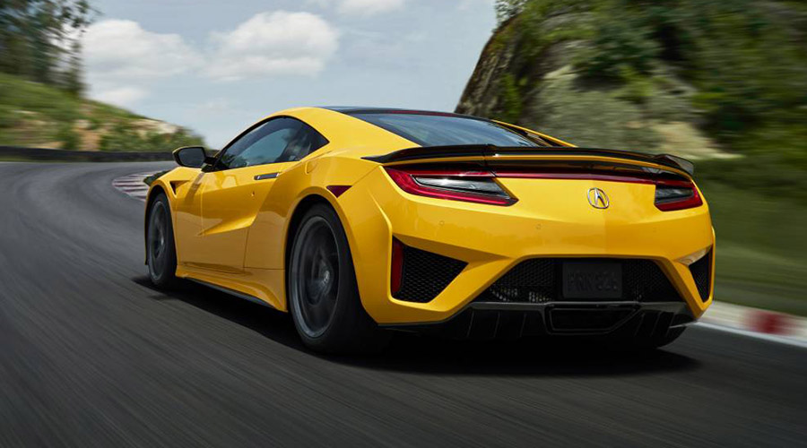 2020 Honda NSX Debuts Heritage Colour – Indy Yellow Pearl at Monterey Car Week