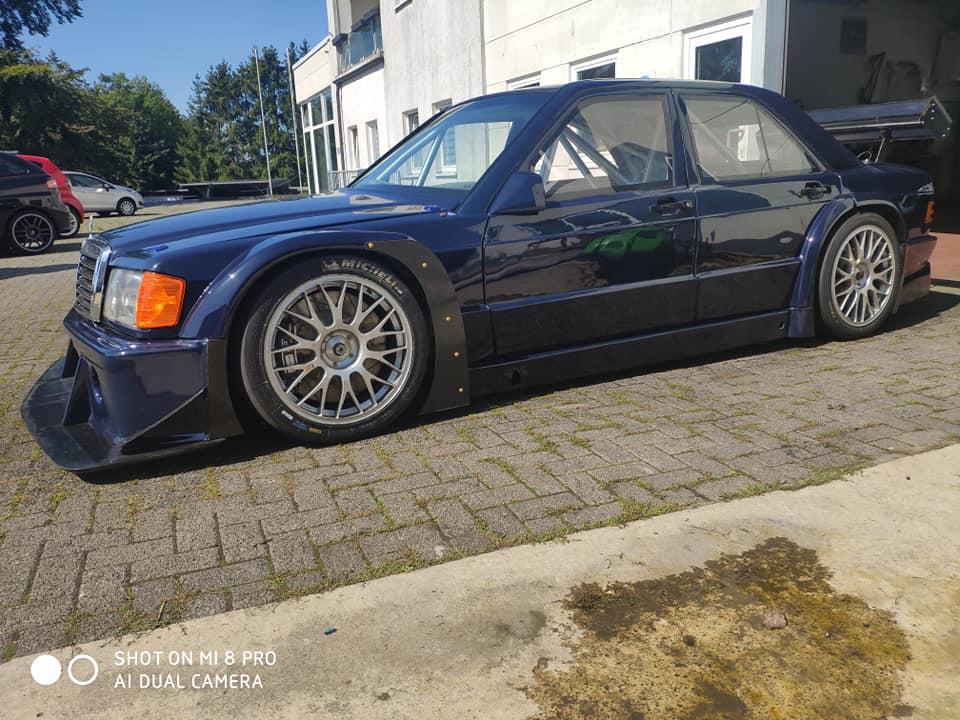 Mercedes 190e 1989 Snobeck DTM Mercedes  Evo1 K1 Inc. Parts