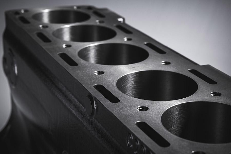 Jaguar Re-Introduces 3.8L Cast Iron Engine Block