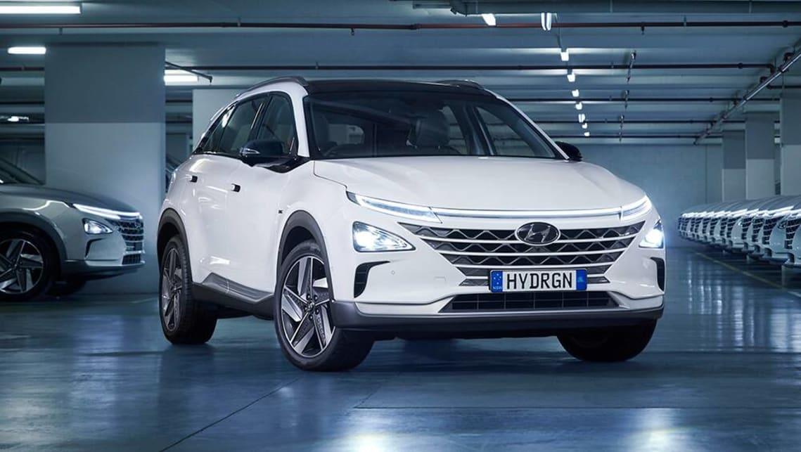 new hyundai nexo 2021 first fleet of hydrogen fuelcell